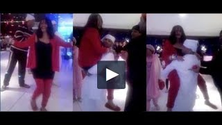 This LEAKED video of Radhe Maa dancing on a devotee's lap ..