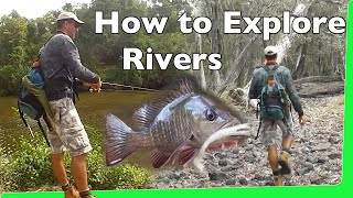 How to explore creeks and rivers Andy's Fishing Video EP.340