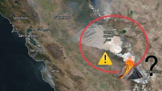 //ALERT\\ MASSIVE Fire Erupts Fresno California / Possible Long Valley Eruption??
