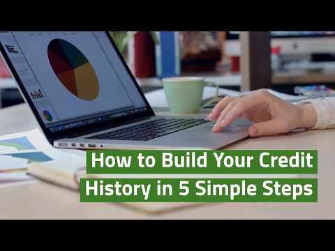 How to Build Your Credit History in 5 Simple Steps