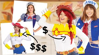 We tried recreating EXPENSIVE Halloween costumes