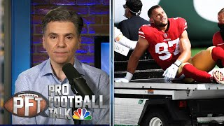 Do 49ers have depth to survive rash of injuries? | Pro Football Talk | NBC Sports