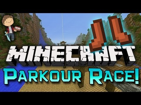 Minecraft: PARKOUR RACING Freedom Jumps W/Mitch & Jerome - Smashpipe Games