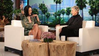 Rihanna Reveals Her Dressing Room Essentials