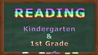 Reading Practice for Kindergarten and First Grade 1