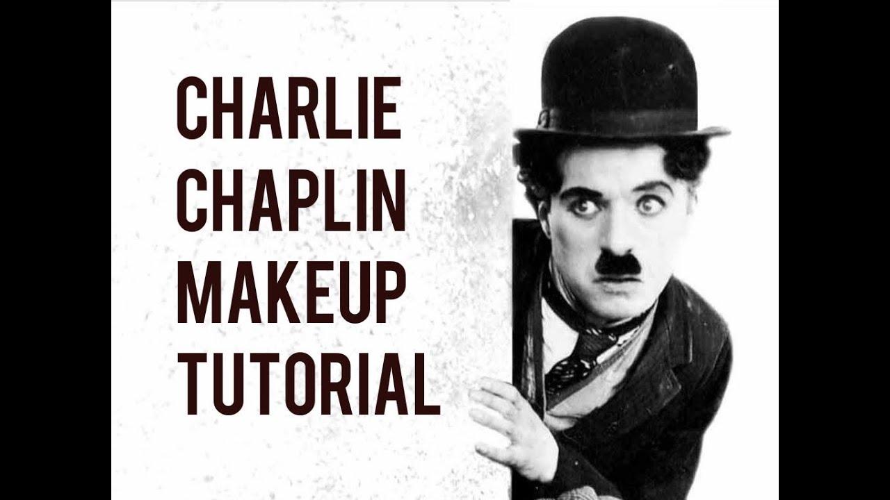 Charlie Chaplin Makeup Tutorial - YouTube
