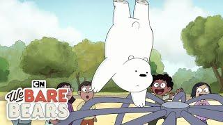 Training With Ice Bear   We Bare Bears   Cartoon Network