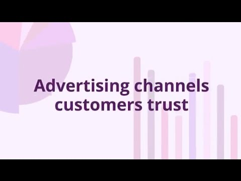 Print ads in newspapers and magazines are the most trusted advertising channel when consumers are making a purchase decision