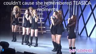 SNSD 1st live as 8 members (without jessica)