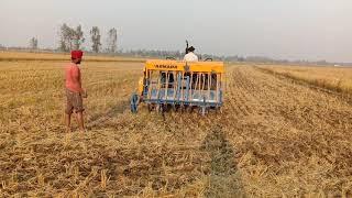Happy seeder Kashmir Singh Hayer Uttarpardesh
