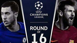 Chelsea vs Barcelona · Hazard vs Messi · Champioms League | Football BR