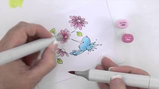 Copic -Copic Coloring Guide - Paint Something Drawing