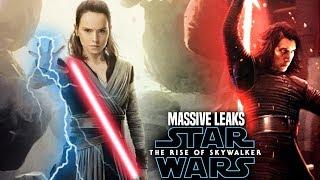 MASSIVE The Rise Of Skywalker Leaks! WARNING (Star Wars Episode 9)