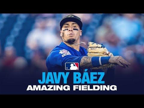 Javy Baez - El Mago in the field! (Fielding Highlights 2019)