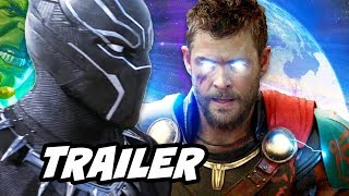 Black Panther Fight Trailer - New Avengers Powers Explained