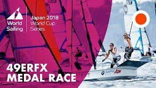 49erFX Medal Race | World Cup Series: Enoshima, Japan 2018