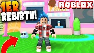 ¡REBIRTH y ZONA de JUGUETES! - Roblox: Ice Cream Simulator