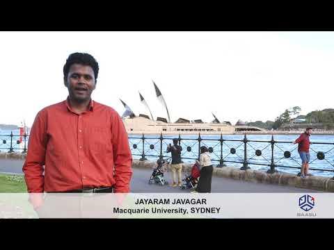 Baasu consultant |Jeyaram Jawahar | #StudentVisa | Macquarie university | Baasu Testimonial