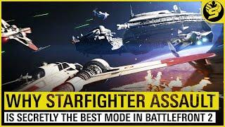 Starfighter Assault - The Best Game Mode in STAR WARS: Battlefront 2