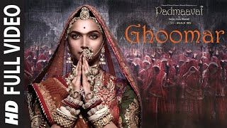 Full Video:Ghoomar Padmaavat Deepika Padukone Shahid Kapoor Ranveer Singh Shreya Ghoshal SwaroopKhan