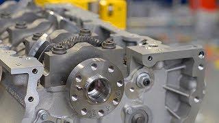 Car Engine Factory: Jaguar Land Rover