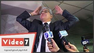 بالفيديو.. حمدين صباحى يصرخ فى نقابة الصحفيين لتهدئة المعارضين له