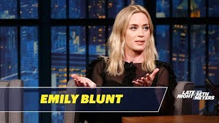 Emily Blunt Tells the Story of How She Met John Krasinski