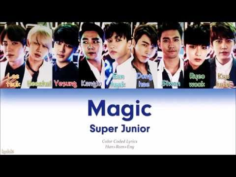 Super Junior (슈퍼주니어) – MAGIC (Color Coded Lyrics) [Han/Rom/Eng]