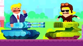 Bowmasters Tank Stars NEW WEAPONS ALL TANKS Gameplay Walkthrough (IOS ANDROID) (1)