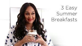 Tia Mowry's Light Breakfast Recipes | Quick Fix