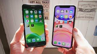 iPhone 7 Plus vs iPhone 11 Speed Test!