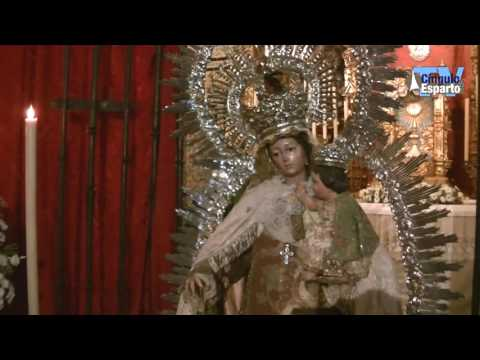 Besamanos de la Virgen del Carmen Santa Ana