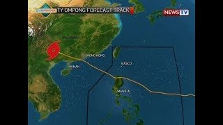 BT: Weather update as of 12:09 p.m. (Sept. 17, 2018)