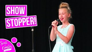 "9 YEAR OLD STUNS CROWD WITH ""NEVER ENOUGH"" AT SCHOOL TALENT SHOW...BEAUTIFUL!!"