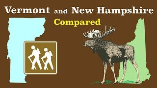 Vermont and New Hampshire Compared