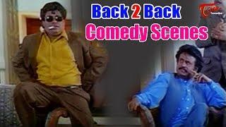 Rajinikanth & Senthil Back to Back Comedy Scenes   TeluguOne