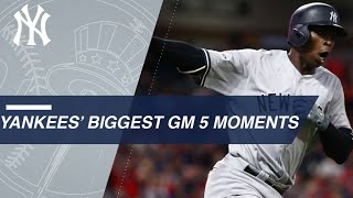 Watch the Yankees' big moments from ALDS Gm 5