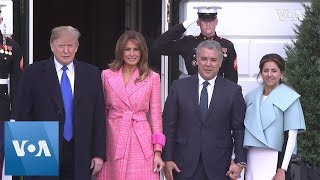 Trump Welcomes Colombian President Duque to White House