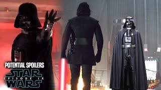Star Wars! HUGE Darth Vader Scene In Episode 9! Potential Spoilers & More