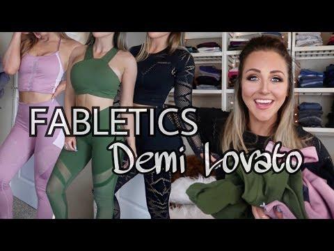NEW Fabletics X Demi Lovato 2018 Review