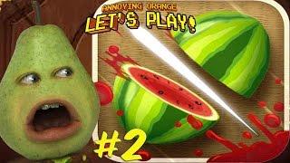 Pear Plays - Fruit Ninja #2: HIGH SCORE!!!