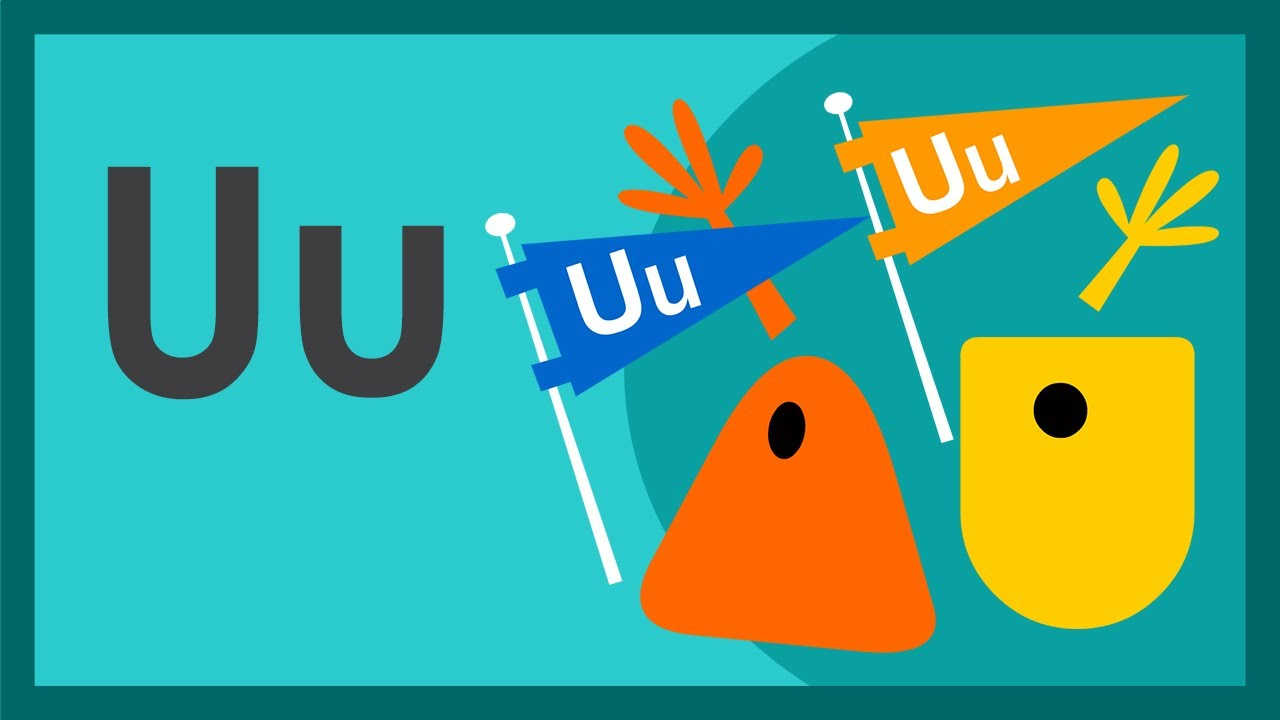 "The Letter U Song"" by ABCmouse.com - YouTube"