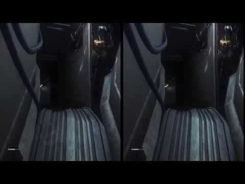 Alien Isolation Oculus Rift DK2 Zeiss Head Tracking TriDef 3D: part 2