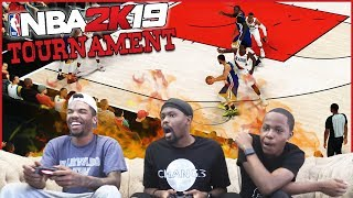 Intense Games, High Emotions & EXTREME Salt Levels! - NBA 2K19 Playoff Tournament
