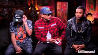 Chris Brown, Trey Songz & Tyga Talk 'Between the Sheets' Tour
