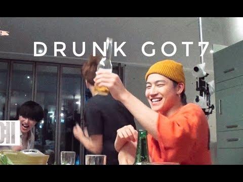 got7 being drunk af for 4 minutes straight