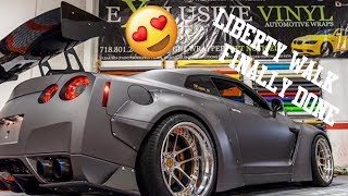 Picking up our Nissan LIBERTY WALK GTR !!!!FINALLY FINISHED!!!!