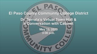 Dr. Serrata's Virtual Town Hall & a Conversation with Cabinet