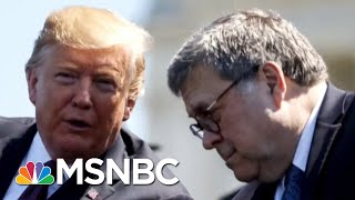 Trump Pressures Barr To Investigate Joe And Hunter Biden | Morning Joe | MSNBC