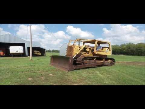 1971 Caterpillar D7F dozer for sale | no-reserve Internet auction September 29, 2016